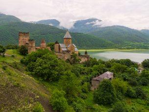 Pevnost Ananuri