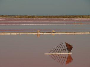 těžiště soli Gruissan