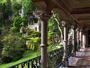 Zahrady v Sintře