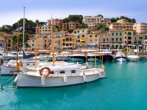 Mallorca - přístav