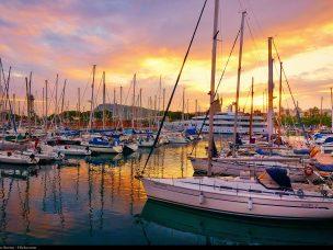 Barcelona, přístav