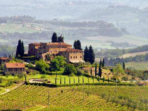 Toskana Weingut