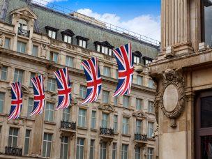 London Oxford Street W1 Westminster in UK England